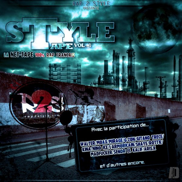 RETROUVEZ G-ZON (LA MEUTE) SUR LA NET-TAPE &quot;STYLE TAPE VOL. 1&quot; DE RAP2STYLE.COM !!!