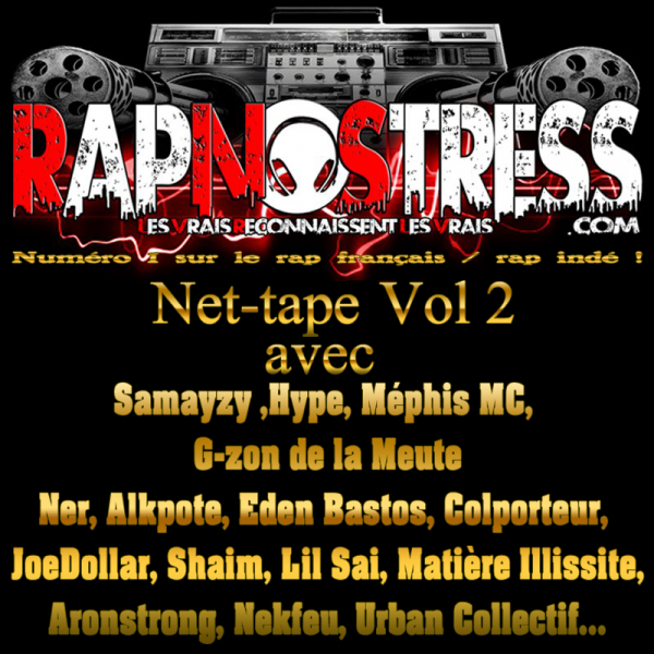 RETROUVEZ G-ZON (LA MEUTE) SUR LA NOUVELLE NET-TAPE VOL. 2 DE RAPNOSTRESS.COM !!!